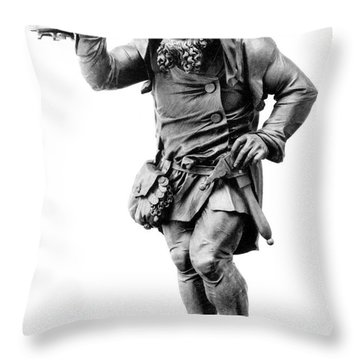 Gnome, Legendary Creature Throw Pillow by Photo Researchers