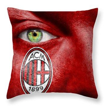 Go Ac Milan Throw Pillow