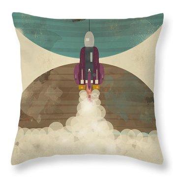 Go Beyond Throw Pillow