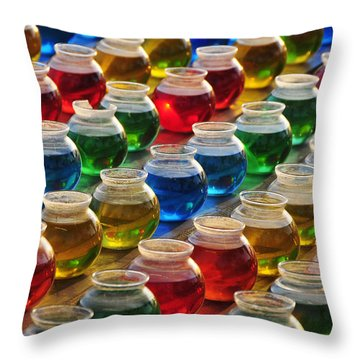 Go Fish 3 Throw Pillow by Skip Hunt