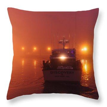 Go Fish Throw Pillow by Dan Mihai