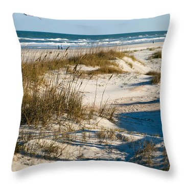 Go Fly A Kite Throw Pillow by Michelle Wiarda