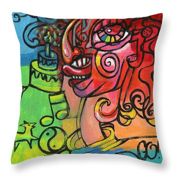 Go Go Caker Stl250 Throw Pillow