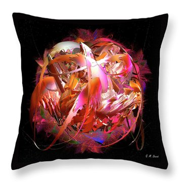 Go Inside And Play Throw Pillow by Michael Durst