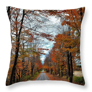 Goal In Sight Throw Pillow