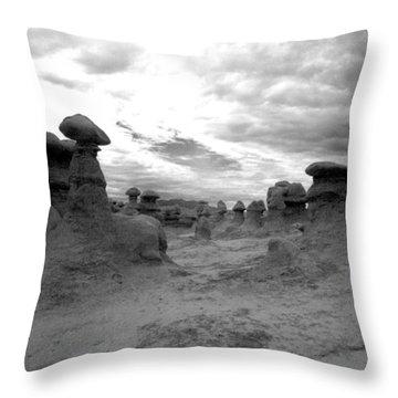 Goblin Path Throw Pillow