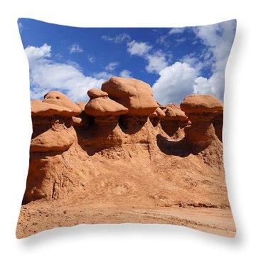 Goblin Valley Throw Pillow