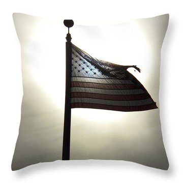 God Bless America 2014 Throw Pillow