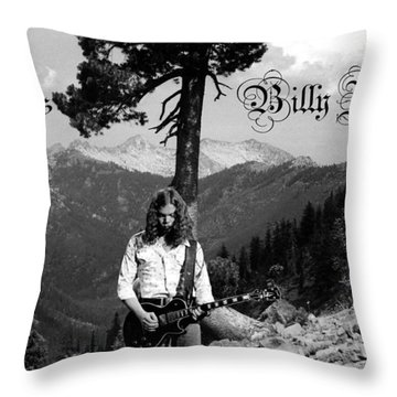 God Bless Billy Jones Throw Pillow