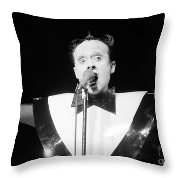 God Klaus Nomi Throw Pillow