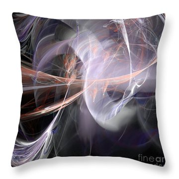 Throw Pillow featuring the digital art God Speed by Margie Chapman