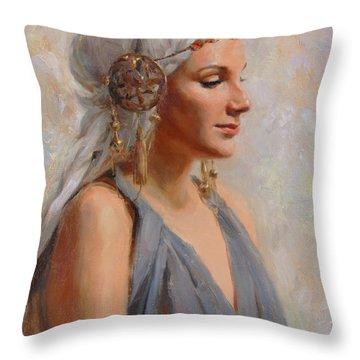 Gowns Throw Pillows