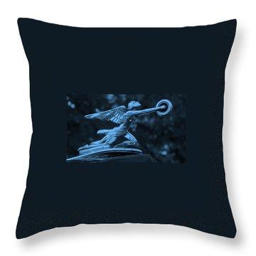 Throw Pillow featuring the photograph Goddess Hood Ornament  by Patrice Zinck