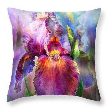 Goddess Of Healing Throw Pillow