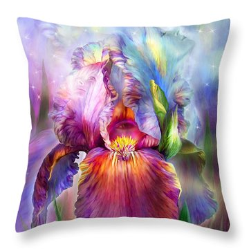 Goddess Of Healing Throw Pillow