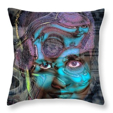 Throw Pillow featuring the photograph Goddess Of Love And Confusion by Richard Thomas