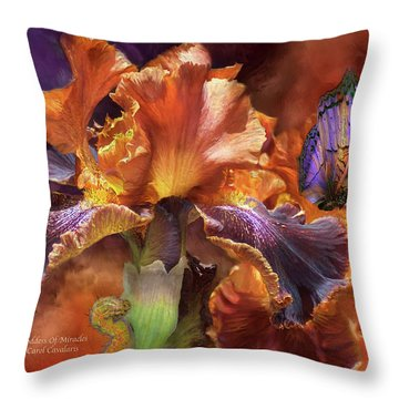 Goddess Of Miracles Throw Pillow