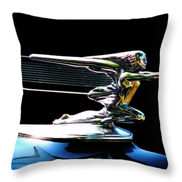 Goddess Of Speed Throw Pillow
