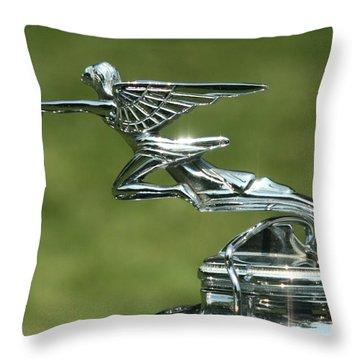 Goddess Of Speed Throw Pillow
