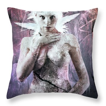 Goddess Of The Water Oh My Goddess Edition Throw Pillow