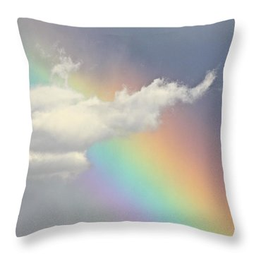 God's Art Throw Pillow
