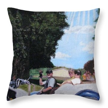 Gods Best Angel Throw Pillow by Sherryl Lapping