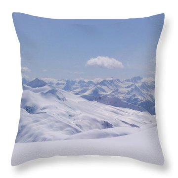 Gods Country Throw Pillow by Brian Williamson
