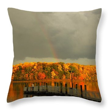God's Eye Throw Pillow