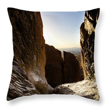 God's Eye View Throw Pillow
