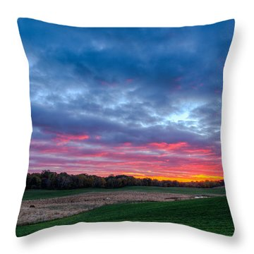 God's Grandeur Throw Pillow