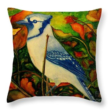 God's New Creation  Throw Pillow by Hazel Holland