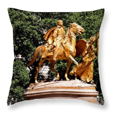 Throw Pillow featuring the photograph God's Protection by Luther Fine Art
