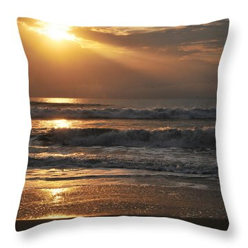 God's Rays Throw Pillow