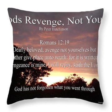 Gods Revenge Throw Pillow