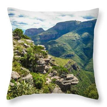 God's Window 1 Throw Pillow