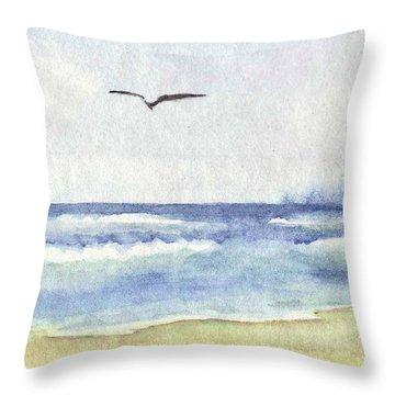 Goelan Atlantique Throw Pillow