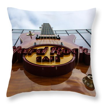 Throw Pillow featuring the photograph Goes To Eleven by Glenn DiPaola