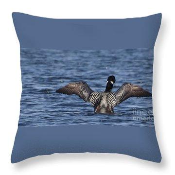 Goin' Looney Throw Pillow
