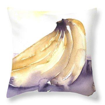 Going Bananas 1 Throw Pillow