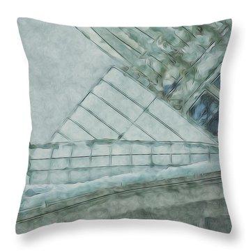 Going Calatrava Throw Pillow