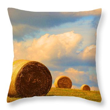 Going Going Gone Throw Pillow