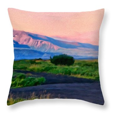 Going To School Cold Bay Style Throw Pillow