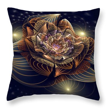 Going To The Light Throw Pillow by Kim Redd