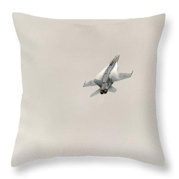 Going Vertical IIi Throw Pillow