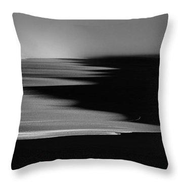 Gold Bluffs Beach 2 Throw Pillow