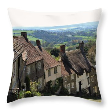 Gold Hill Shaftesbury Throw Pillow by Katy Mei