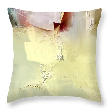 Gold Lion Throw Pillow