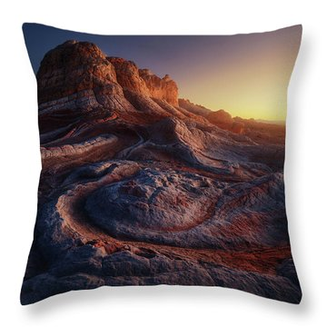 Vermilion Cliffs Throw Pillows