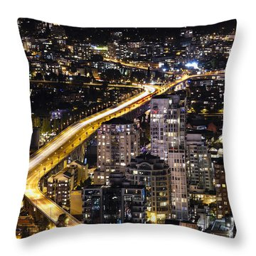 Golden Artery - Mcdxxviii By Amyn Nasser Throw Pillow by Amyn Nasser