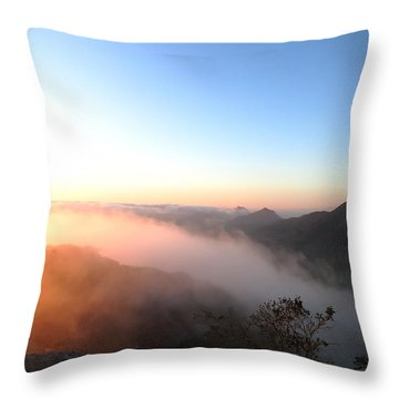 Golden Blanket Throw Pillow by Paul Foutz